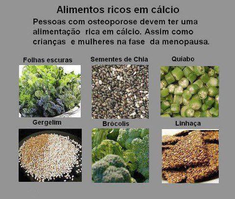 Alimentos ricos em c lcio mandala dos sabores - Alimentos ricos en gluten ...