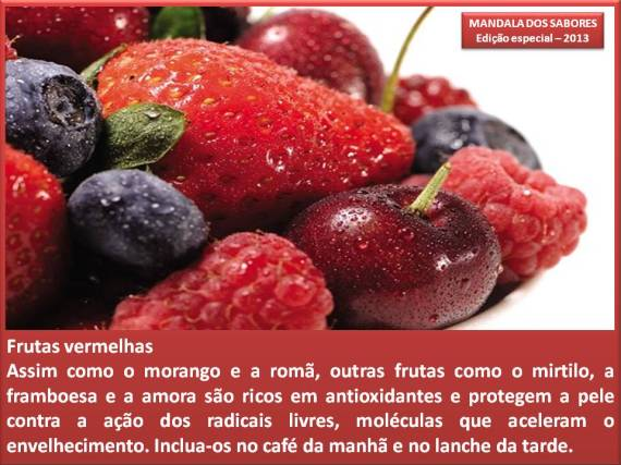 fruta red