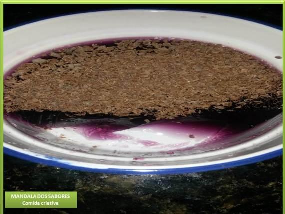 Gelatina chocolate